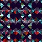 Geometrische Kühnheit Nahtloses Vektormuster