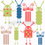 Gang Of Robots Repeat Pattern
