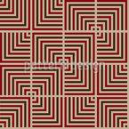 Maori Inspirierte Tukutuku Vektor Muster