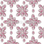 Crystal Gems Seamless Vector Pattern Design