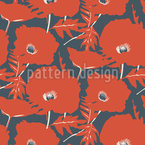 Summer Of The Poppies Repeating Pattern
