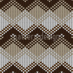 Knitted Bordures Seamless Vector Pattern Design