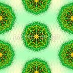 Mandala Zen Design de padrão vetorial sem costura