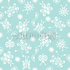 Tingle Tangle Seamless Vector Pattern Design