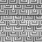 Alternating Triangles Seamless Vector Pattern Design