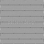 Wechselnde Dreiecke Musterdesign