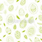 Elegante Ostereier Muster Design