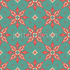 Medieval Palace Tiles Vector Ornament