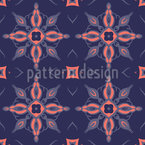 Medieval Tiles Seamless Vector Pattern