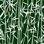 Bambus Dickicht Designmuster
