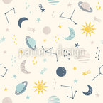 Space Explorer Seamless Vector Pattern