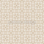 Japanisches Quadratgitter Nahtloses Vektormuster