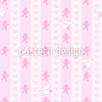 We Love Teddies Seamless Vector Pattern Design
