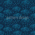 Stormy Sky Seamless Vector Pattern Design
