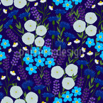 Wild Flower Bouquet Repeating Pattern