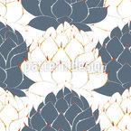 Agavenpflanze Bei Tag Rapportiertes Design
