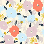 Scandi Flowers Pattern Design