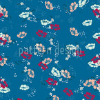 Love Petals Seamless Vector Pattern Design