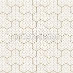 Quimono japonês Design de padrão vetorial sem costura