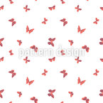 Group Of Butterflies Seamless Vector Pattern Design