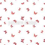 Gruppe Schmetterlinge Nahtloses Vektormuster
