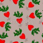 Verliebte Radieschen Designmuster