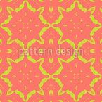 Hippie Patchwork Muster Design