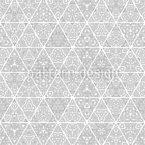 Edle Dreiecke Nahtloses Vektormuster