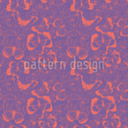 Butterflies Scenery Seamless Vector Pattern Design