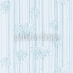 Bamboolino Blue Seamless Vector Pattern Design