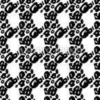 Abstracted Leopard Spots Vector Design