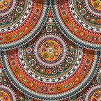 Azteken Platten Nahtloses Vektormuster