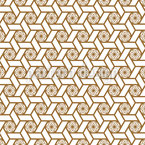 Japonês Estrela Quimono Design de padrão vetorial sem costura