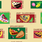 Fruity Pies Pattern Design
