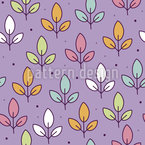 Blattwiese Musterdesign