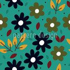 Floral Gráfica Design de padrão vetorial sem costura