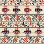 Palestinian Geometric Bordura Seamless Vector Pattern Design