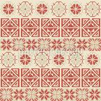 Palestinian Geometric Stripes Seamless Vector Pattern Design