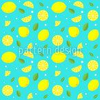 Süße Limonade Nahtloses Vektormuster
