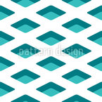 Isometric Waffle Seamless Vector Pattern Design