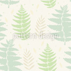 Wild Fern Vector Ornament