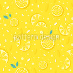 Juicy Lemons Repeating Pattern