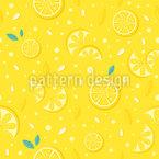 Saftige Zitronen Rapportiertes Design
