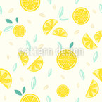 Lemon Composition Vector Ornament