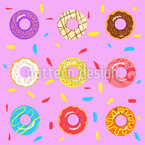 I Need More Donuts Repeat Pattern