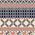 Palestinian Stripes Seamless Vector Pattern Design