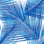 Palm Fronds Seamless Vector Pattern Design