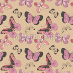 Dreamy Butterfly Seamless Vector Pattern Design