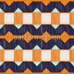 Geo Modern Ikat Muster Design