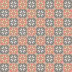 Palästinensische Stickerei Quadrate Vektor Design